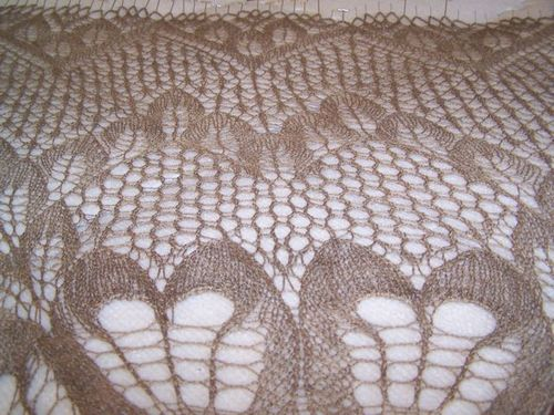 Leaves Shawl 7