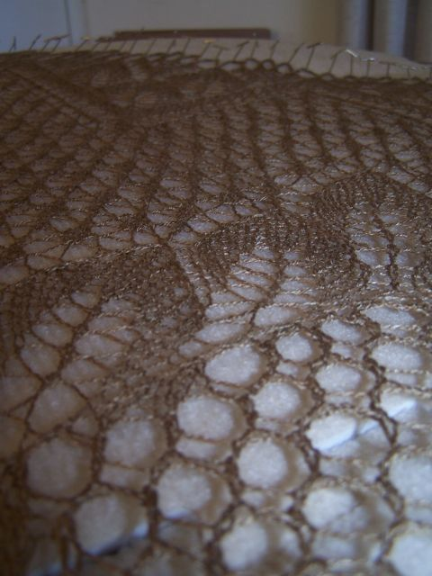 Leaves Shawl 9