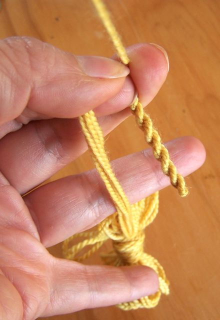 Cord - checking twist