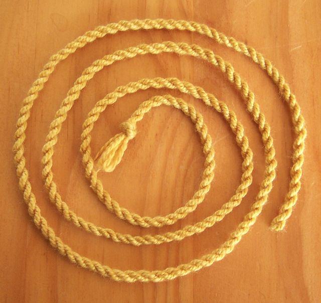 Cord - straightened