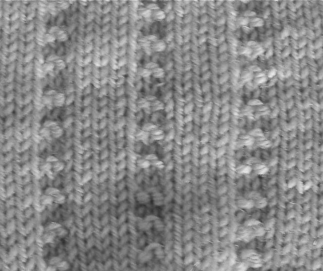 Purl stripe