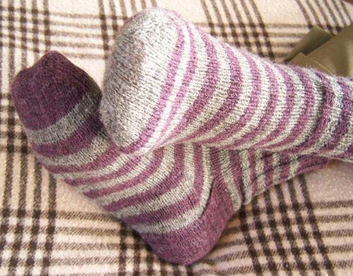 Stripey Socks 1