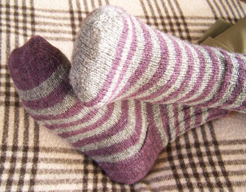 Stripey Socks 1