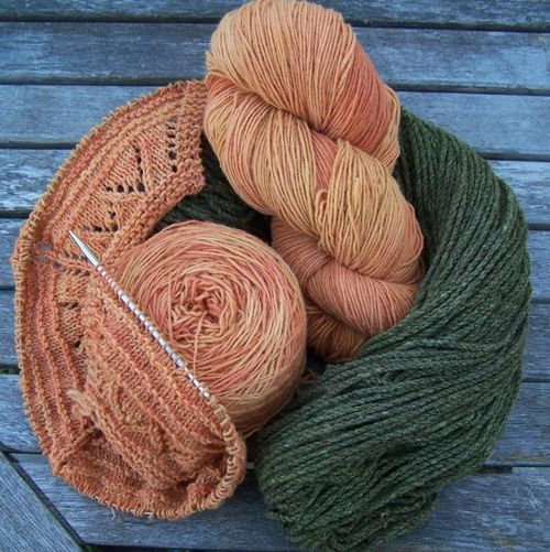 Sweet grass yarns