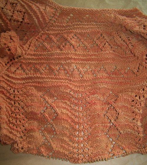 Sweet Grass Shawl 80