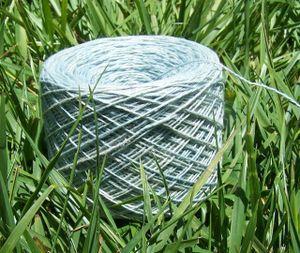 Silk-linen lace