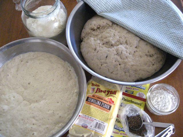 Breads in progress
