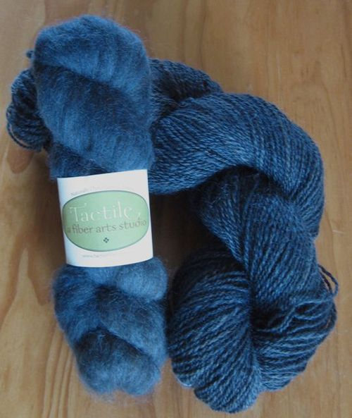 Indigo on Black BFL