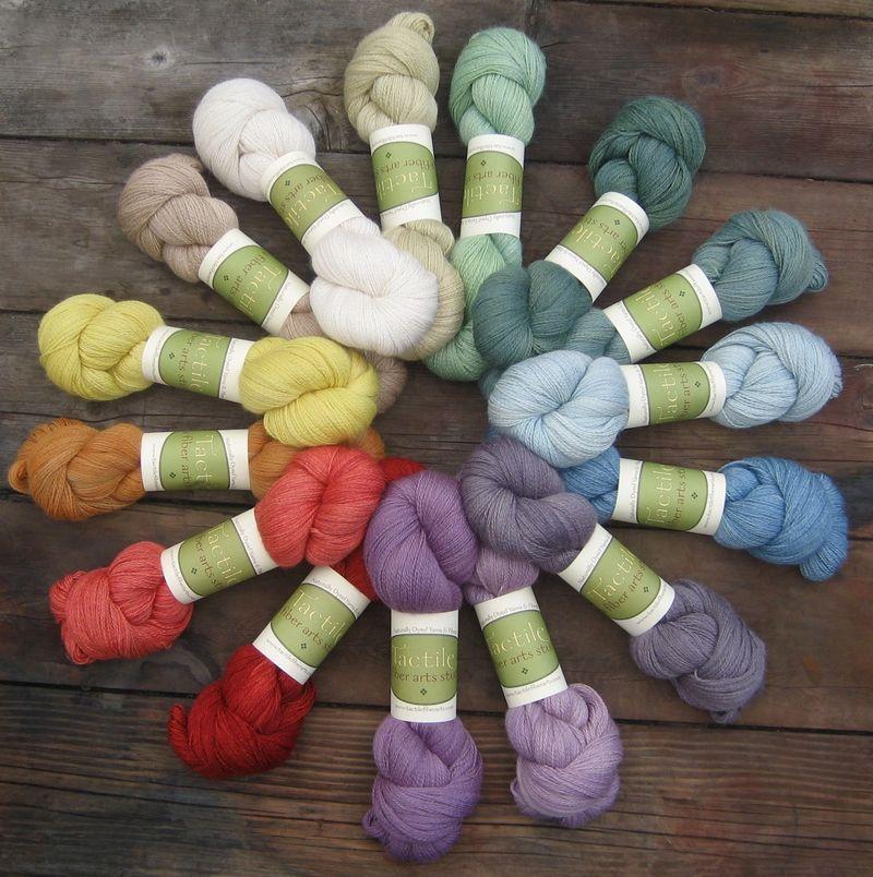 Alpaca-Silk Lace group