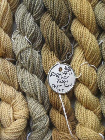 WC test skein tag
