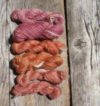 Handspun_sweater_sample_skeins