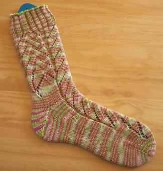 Babnana_blossom_sock