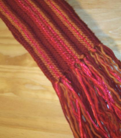 Scarf Around, 3 yarn variation